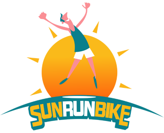 logo sun run bike trail pyrenees